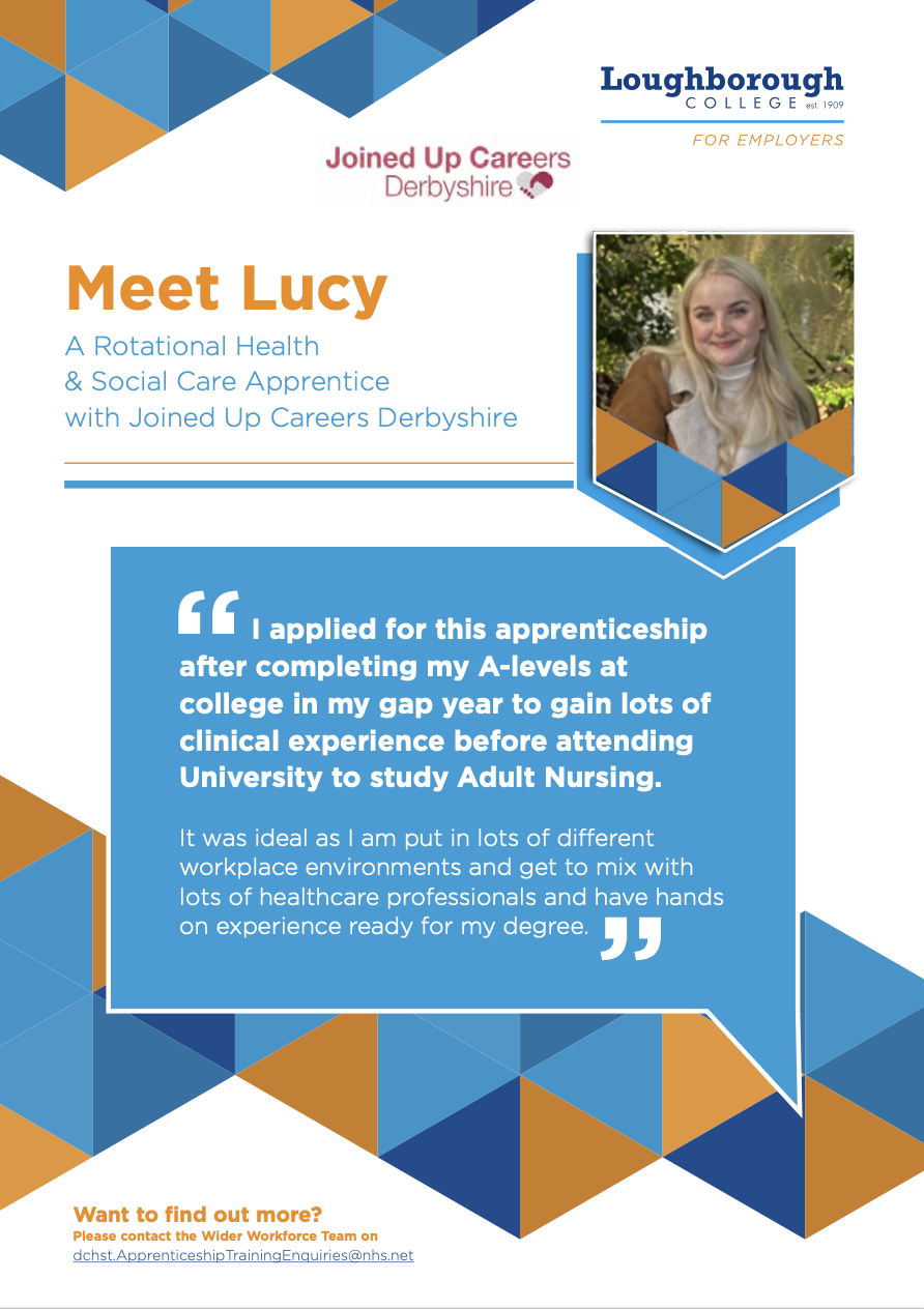 Meet Lucy - our apprentice