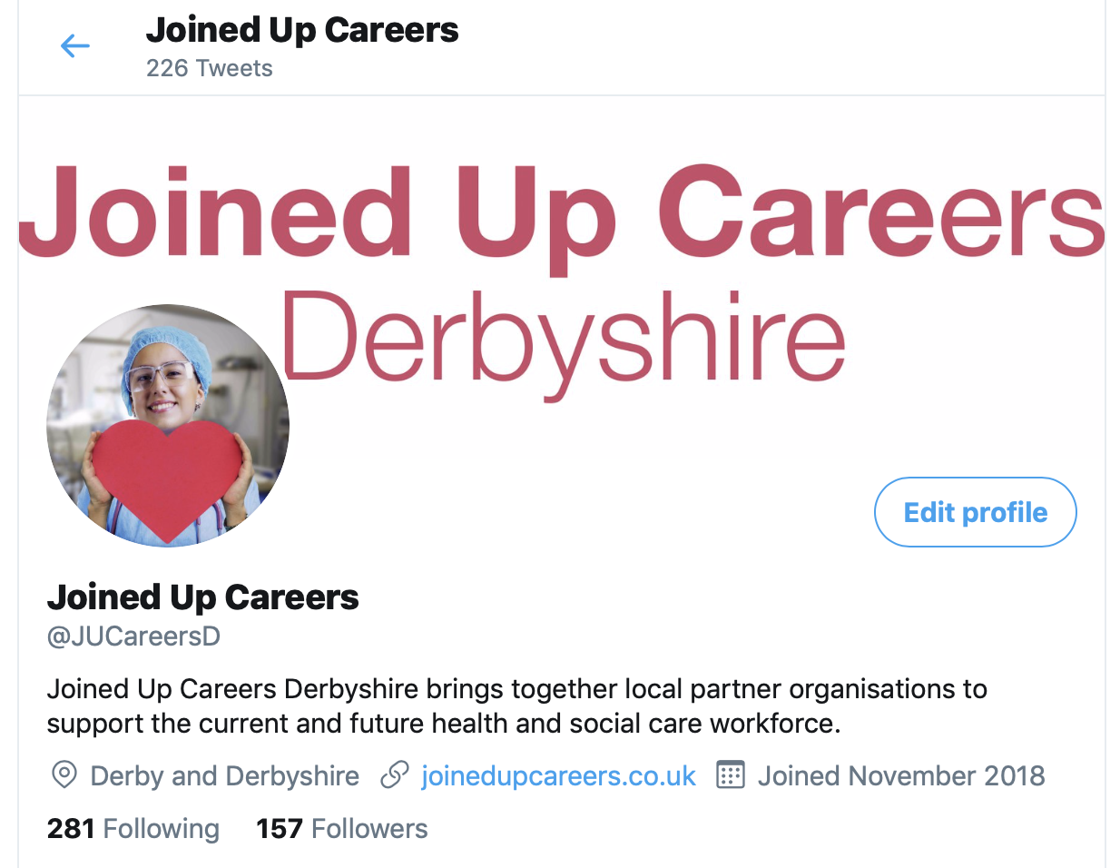 Getting social with Joined Up Careers